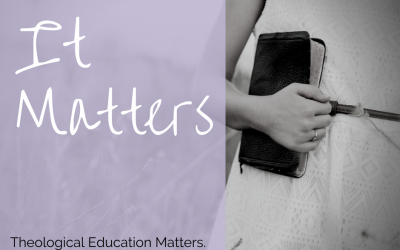 Familiarity Breeds Contempt: Or Why Theological Education Matters